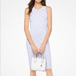 MK lavender dress with flowers